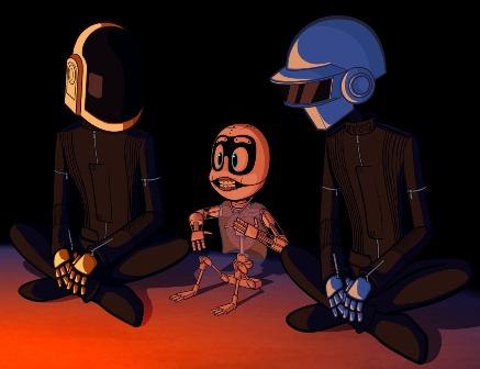 Nieuw boek Daft Punk onderweg
